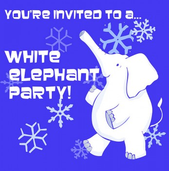 The white elephant gift exchange party easy event ideas