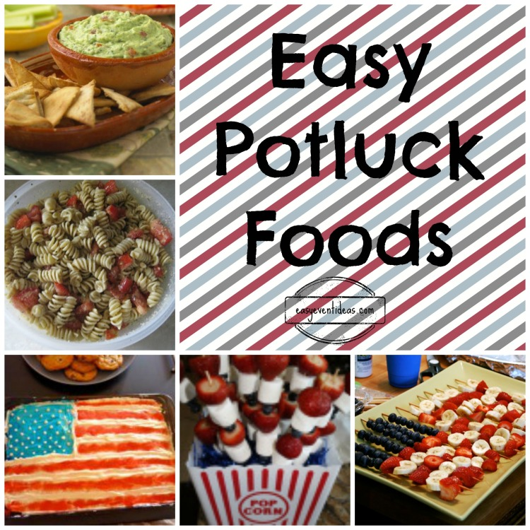 Easy Potluck Foods