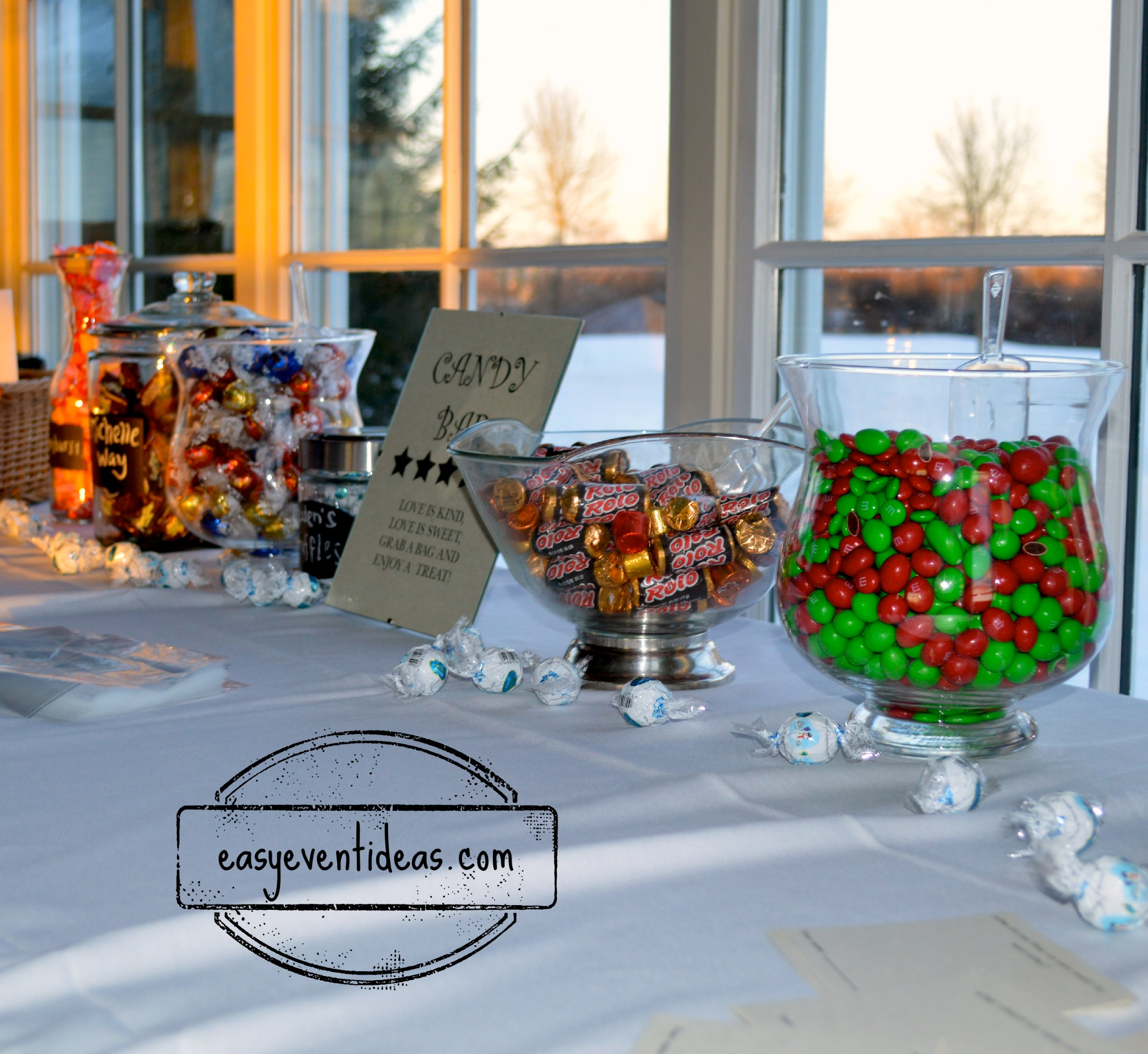 Candy Bar For Wedding Ideas: Keeping The Wedding Candy Bar Costs Down
