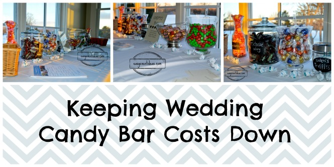 Keeping Wedding Candy Bar Costs Down