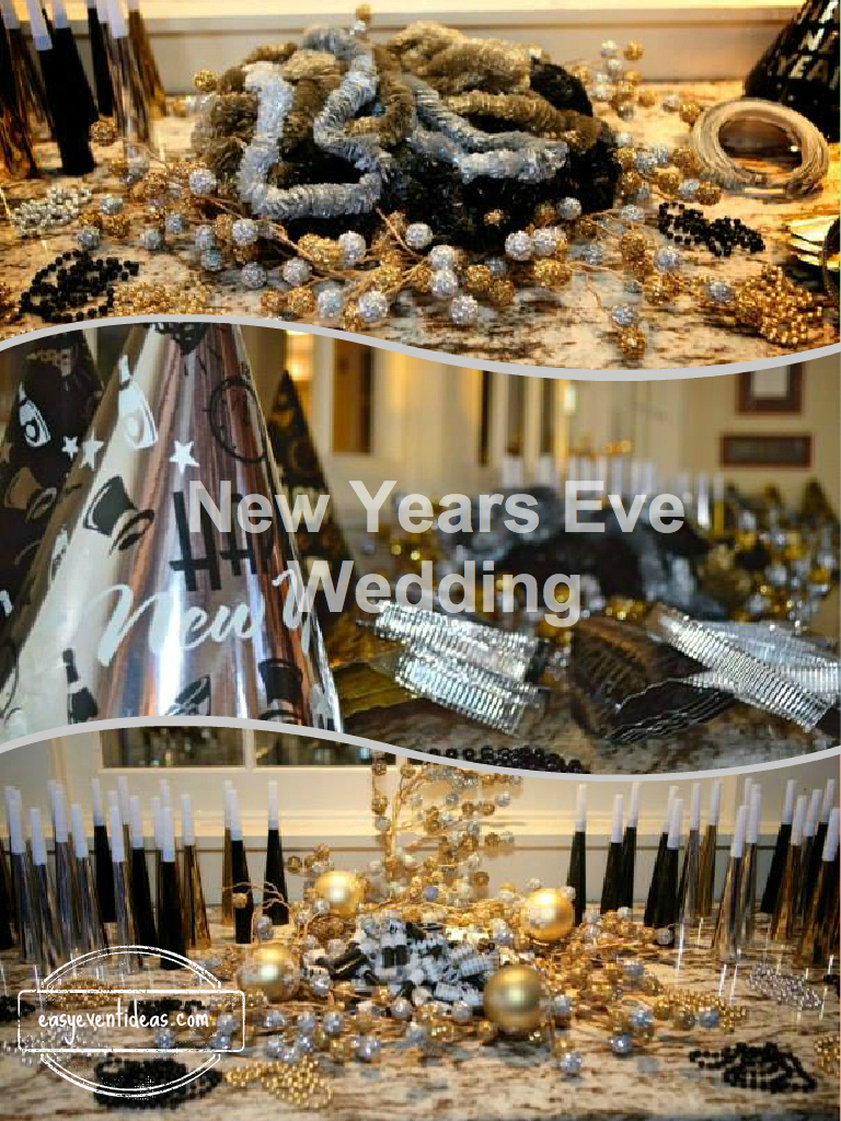 New Years Eve Wedding – Easy Event Ideas
