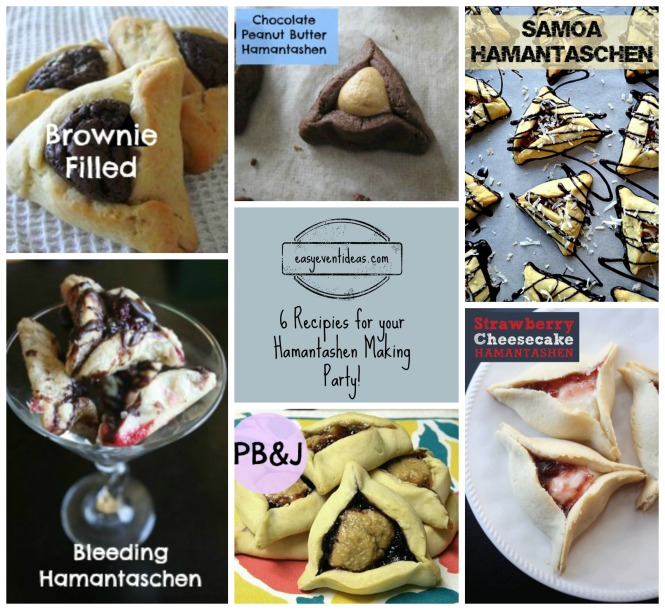 Hamantashen Collage