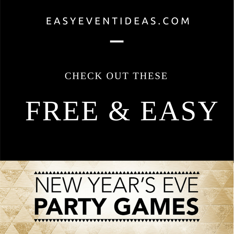 Free New Years Eve Game Idea Generator – Easy Event Ideas