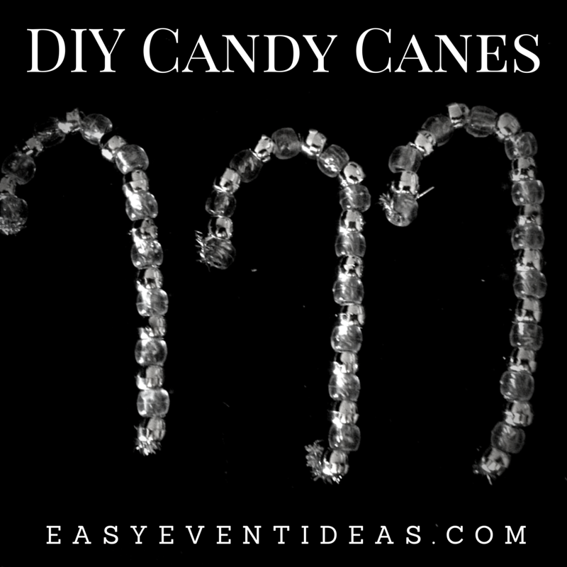 DIY Candy Cane Decoration Craft