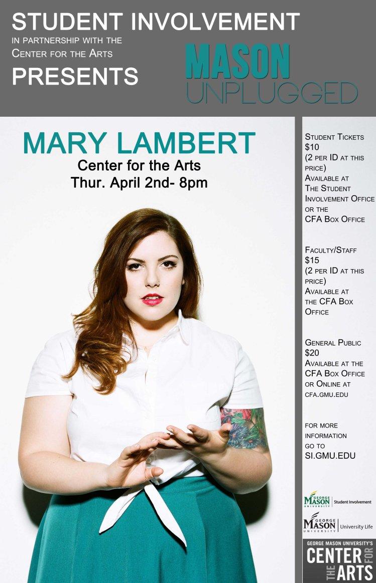 Mary Lambert Poster small