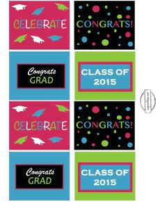 Square grad printables 2015