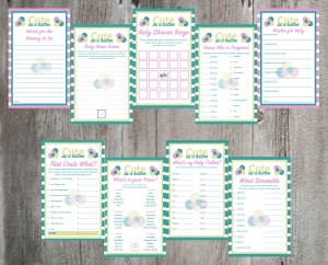 Cute as a Button Printable Collection