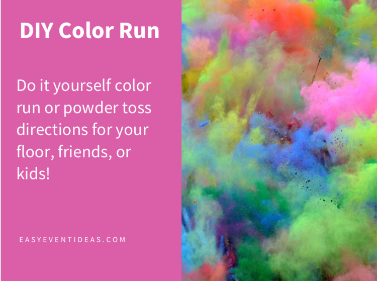 DIY Color Run