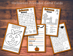 Halloween Printable's for just $6