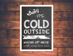 Cold Outside With Frame