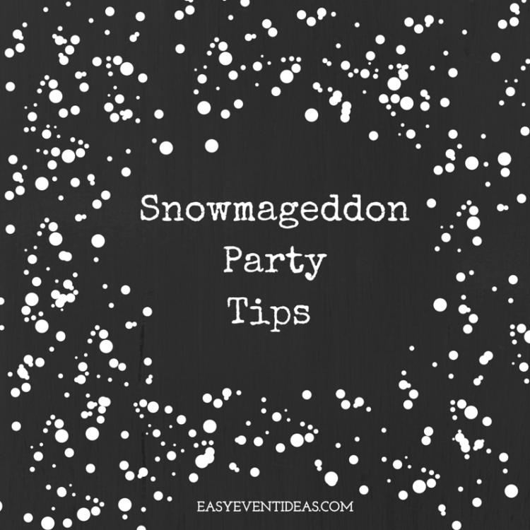 Snowmageddon PartyTips