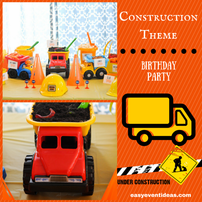 Construction Theme Birthday