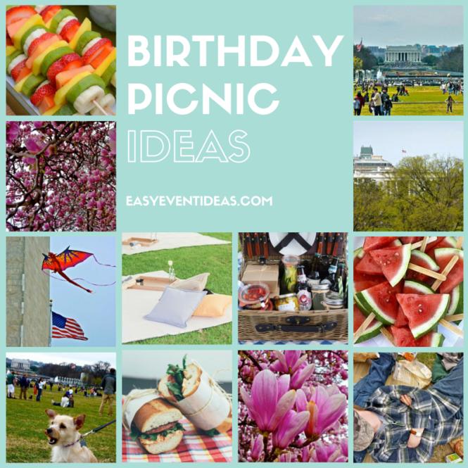 Perfect Birthday Picnic Ideas