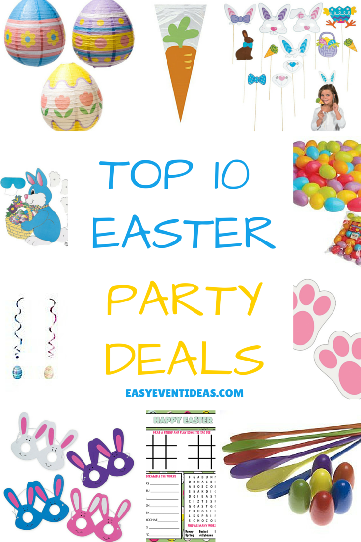TOP 10 EASTER Party Deals
