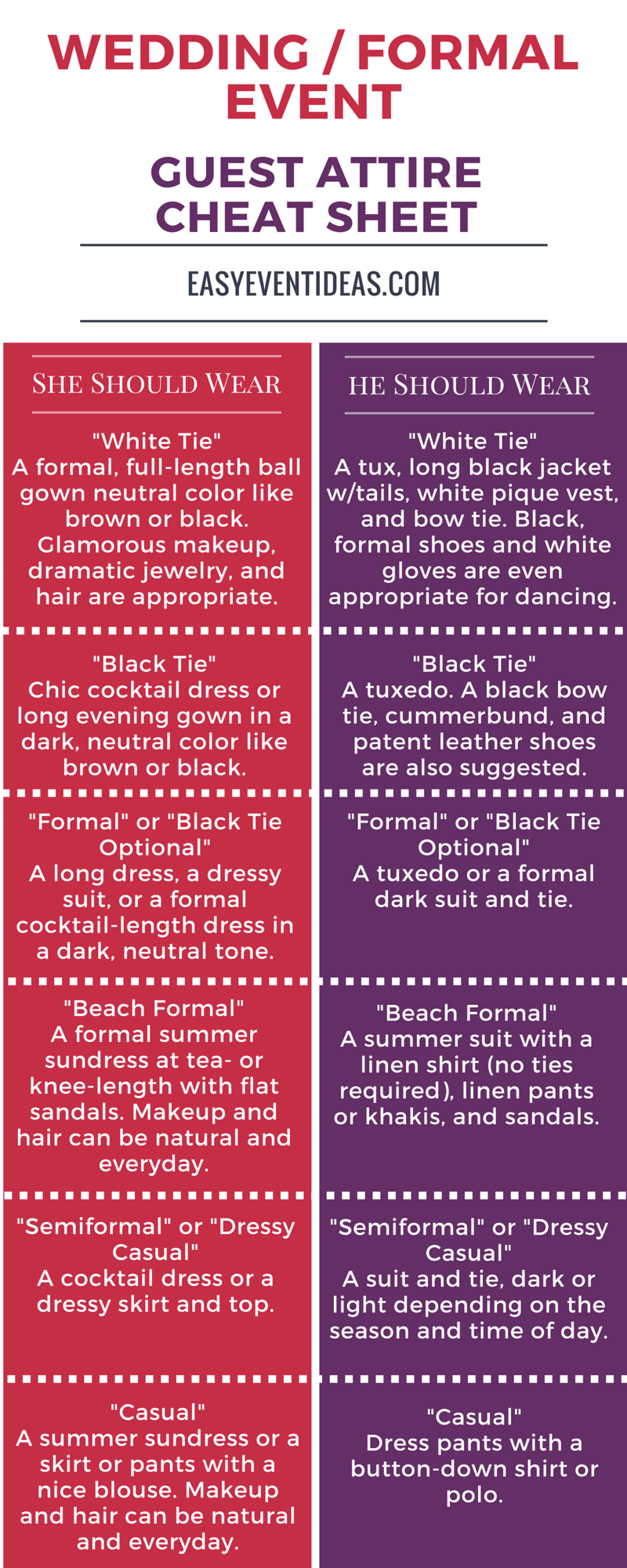 What to Wear to a Wedding or Formal Event – Easy Event Ideas