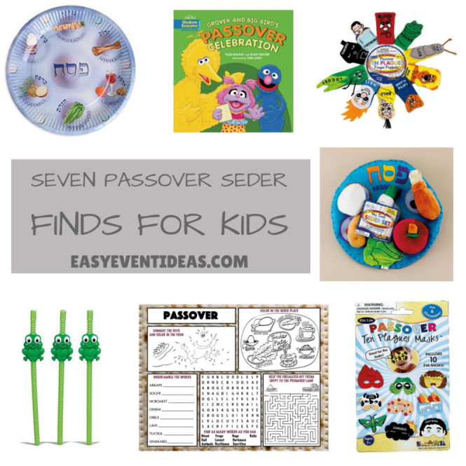 Seven Passover Seder Finds for kids
