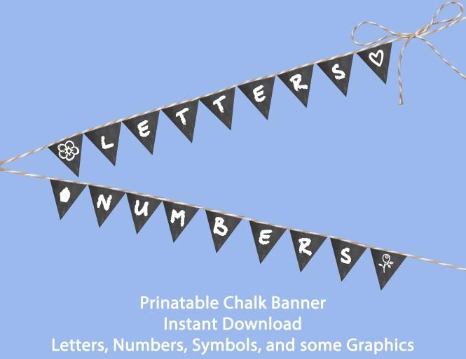 Chalk Baner Sale
