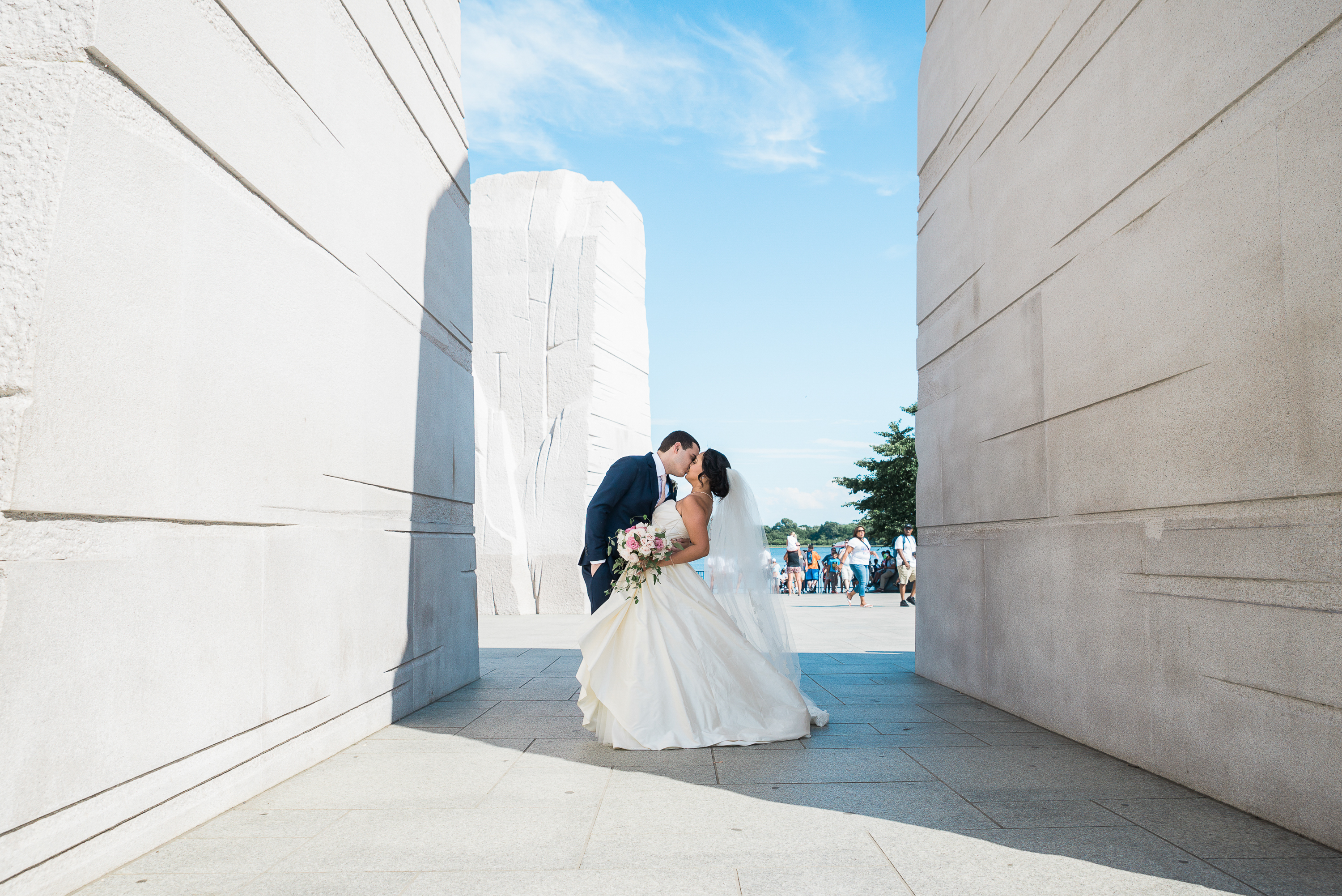 Washington DC Rooftop July Wedding – Easy Event Ideas