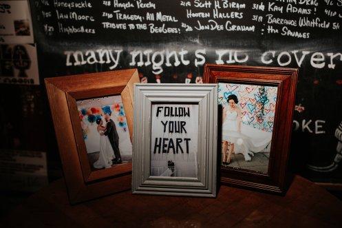 Wedding Photo Gift Table