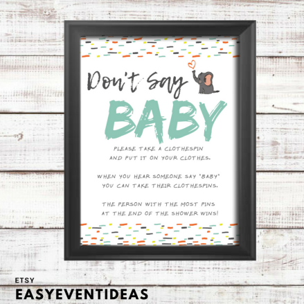 Dont Say Baby Sign